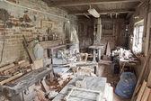 Carpenter's workshop. — Stock Photo