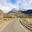 Stock Photo: Road to El Chalten in Argentina.