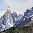 Stock Photo: Cerro Torre in Los Glaciares National Park, Patagonia, Argentina