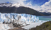 Beautiful of a glacier. — Stock Photo