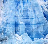 Blue icy background and texture. — Stock Photo