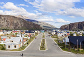 El Chalten village in Argentina. — Stock Photo