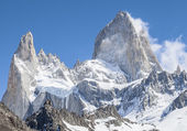 Fitz Roy Mountain Range, Argentina — Stock Photo