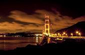 Beautiful night view of San Francisco, USA — Stock Photo
