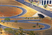 Road infrastructure in Brasilia — Foto Stock