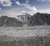 Beautiful mountain view of Everest Region,  Nepal — Stock Photo