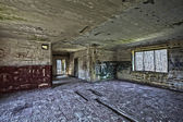 Old abandoned building, hdr processing. — Stock Photo