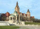 Chrobry Embankment in Szczecin — Foto de Stock