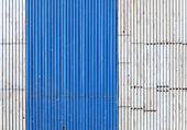Metal roof texture. — Stock Photo