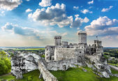 Castle, Ogrodzieniec fortifications, Poland. — Stock Photo