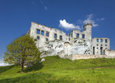 Ruins of a castle, Ogrodzieniec fortifications, Poland.  — Stock Photo