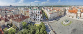Panoramic view Prague. — Stock Photo