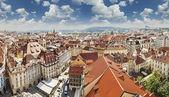 Beautiful cityscape of Prague, Czech Republic. — Stock Photo