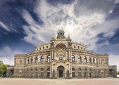 Dresden opera theater, Germany  — Stock Photo