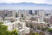 Santiago de Chile downtown skyline. — Stock Photo