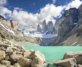 Torres del Paine mounatains, Patagonia, Chile — Stock Photo