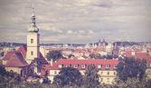 Vintage picture of Prague, Czech Republic. — Stock Photo