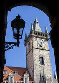 在捷克共和国布拉格旧城. — 图库照片