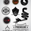 Premium quality labels for your design — Stock Vector