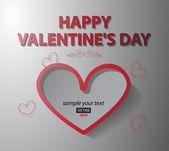 Card Valentine's Day — Stockvektor