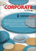 Corporate vector template — Stock Vector