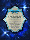 Invitation to an elegant space — Stockvector