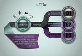 Infographics of your data — Vecteur
