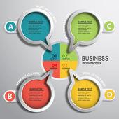 Dados círculos coloridos — Vetorial Stock