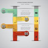 Infographics data — Cтоковый вектор