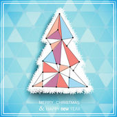 Christmas tree — Stockvector
