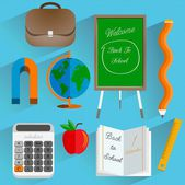 Back to School toolkit — Stock Vector