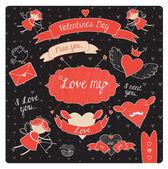 Love is — Stock Vector