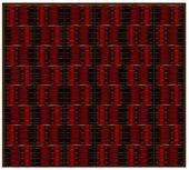 赤のテクスチャ — ストックベクタ