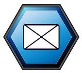 Post button — Stock Vector