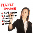 Stock Photo: Perfect employee
