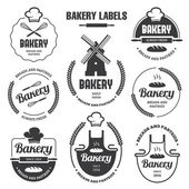 Bakery labels 1 — Stock Vector