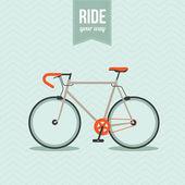 Bisiklet — Stok Vektör