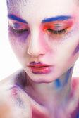 Make-up paint — Stock Photo