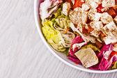 Healthy garden salad — Stockfoto