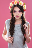 美しい若い女の子 — ストック写真