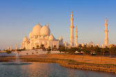 Ciudad de abu dhabi, emiratos árabes unidos — Foto de Stock