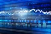 World economics graph. stock market chart . Finance concept — Stock Photo