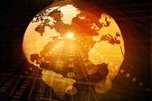 Digital globe — Stockfoto
