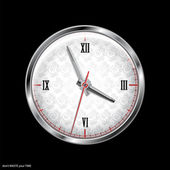 Vector clock — Stock Vector