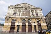 BILBAO, SPAIN - APRIL 24: Facade of the Teatro Arriaga in Bilbao — Stok fotoğraf