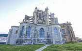 CASTRO URDIALES, SPAIN - 14 MAY, 2014 : Church of St. Mary of th — Stock Photo