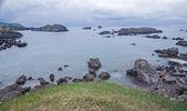 Beach of Ris on calm. Noja, Cantabria (Spain). — Stock Photo