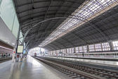 "Train station ""Indalecio Prieto"". Bilbao, Basque Country (Spain) — Stock Photo"