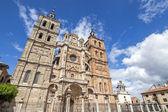 Hlavní průčelí katedrály astorga (španělsko). — Stock fotografie