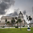 Landscape view of the Capitol building — Stock Photo #41994853